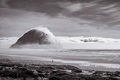 Photograph - Majestic Fog III by Mercedes Noriega