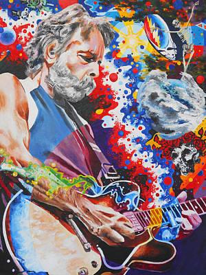 Jam Bands Paintings Original Artwork