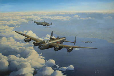 Lancaster Bomber Paintings
