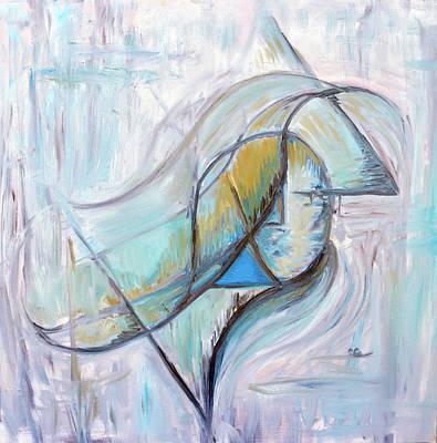 Painting - Soul Searching by Shuanteya Sherman