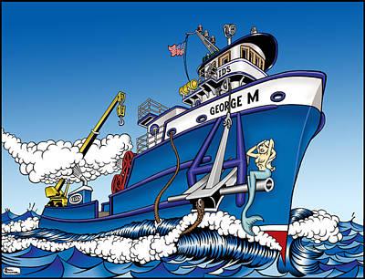 Bill Proctor: Anchor Art