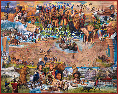 Designs Similar to The Voyage Of Lewis And Clark
