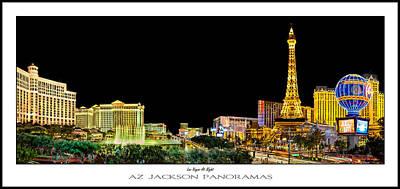 Designs Similar to Las Vegas At Night Poster Print