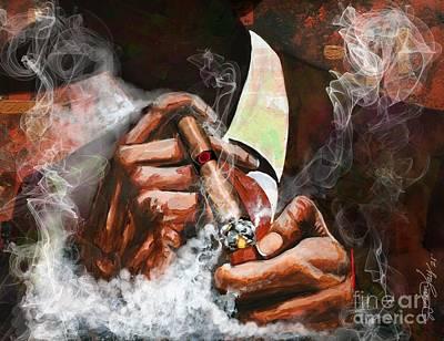 Smoke Paintings