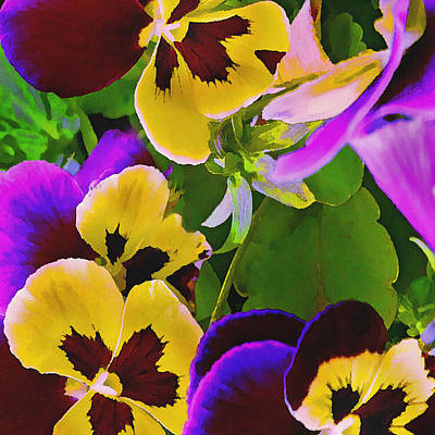 Designs Similar to Painterly Purple Pansy