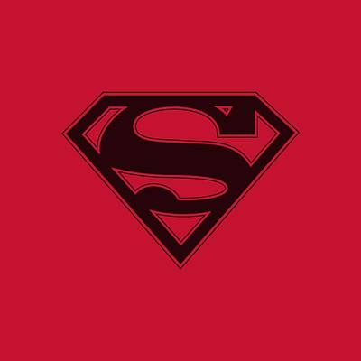 Designs Similar to Superman - Red And Black Shield