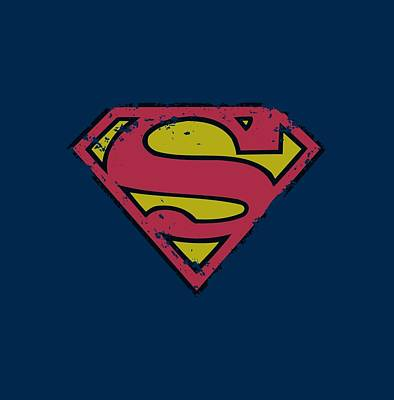 Designs Similar to Superman - Distressed Shield
