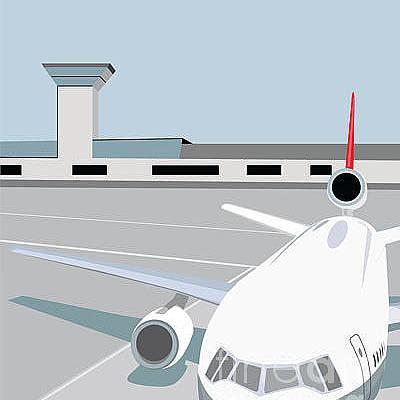 Designs Similar to Airplane At Terminal