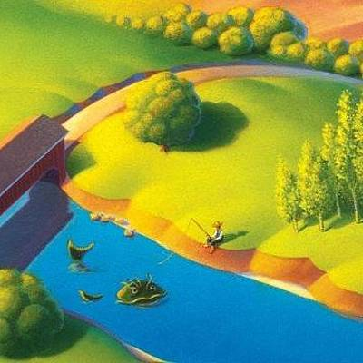 Designs Similar to Covered Bridge by Robin Moline