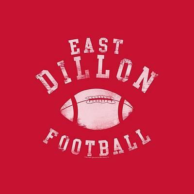 High School Football Digital Art