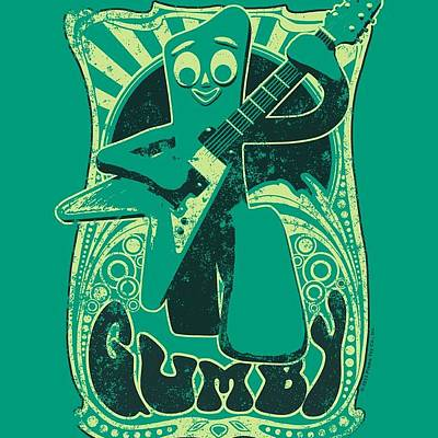 Designs Similar to Gumby - Vintage Rock Poster
