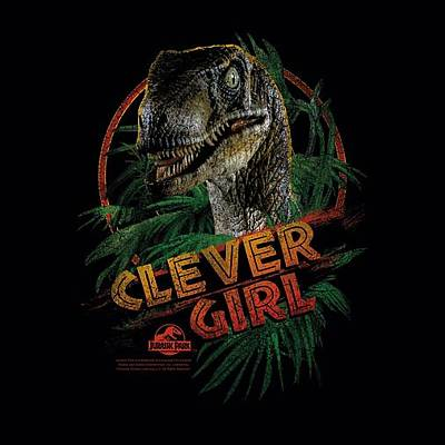 Designs Similar to Jurassic Park - Clever Girl