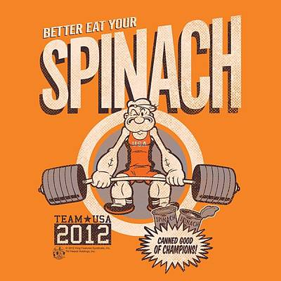Designs Similar to Popeye - Eat Your Spinach