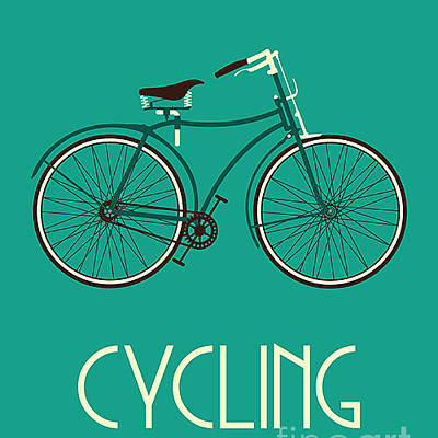 Designs Similar to Retro Bike Poster by Negovura