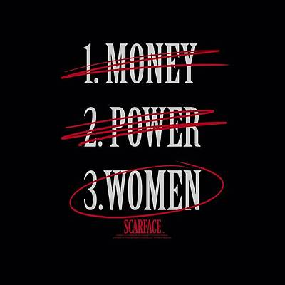 Designs Similar to Scarface - Money Power Women