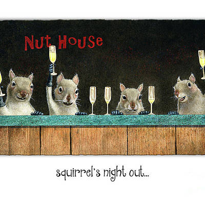 Designs Similar to Squirrel's Night Out...