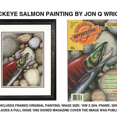 Designs Similar to Sockeye Salmon by JQ Licensing