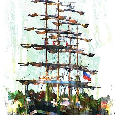 Arie Van Garderen: Tallship Art