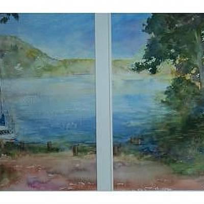 Saiing At The Lake Art