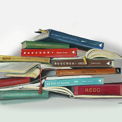 Books Paintings