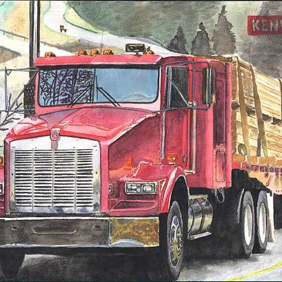 Designs Similar to Kenworth In Action