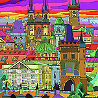 Designs Similar to Prague Panorama Old Town