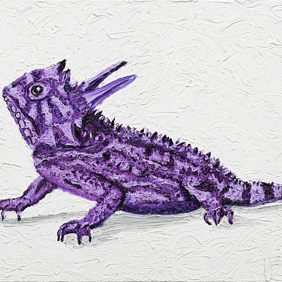 Designs Similar to Tcu Horned Frog by Tracie Bobo
