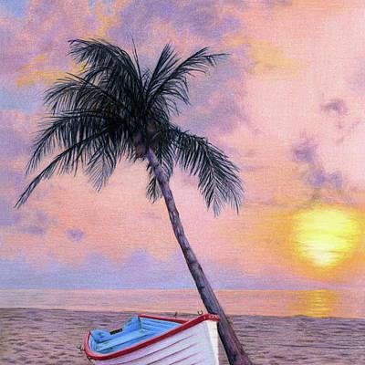 Sunset Seascape Drawings