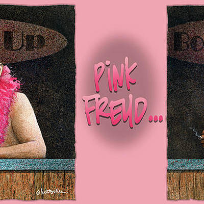 Designs Similar to Pink Freud... by Will Bullas