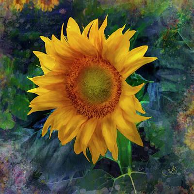 Digital Art - Sunflower by Shelley Benjamin