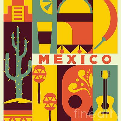 Designs Similar to Vector Mexico Background