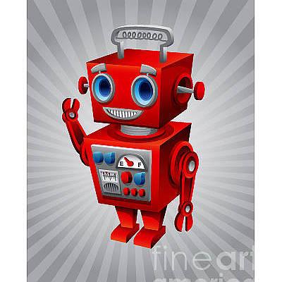 Designs Similar to Vintage Robot by Scott Bartlett