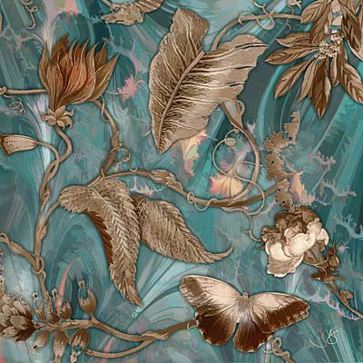Digital Art - Butterfly Fractal by Shelley Benjamin
