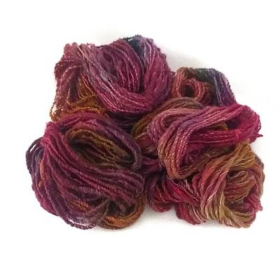 Photograph - Dreams of Berries Textured Yarn by Charles and Melisa Morrison