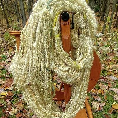 Photograph - Golden Lemon Textured Yarn by Charles and Melisa Morrison