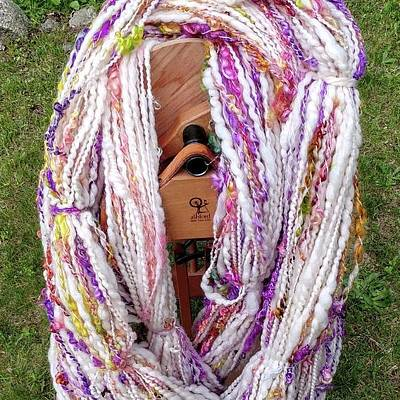 Photograph - Spring Bouquet Textured Yarn by Charles and Melisa Morrison