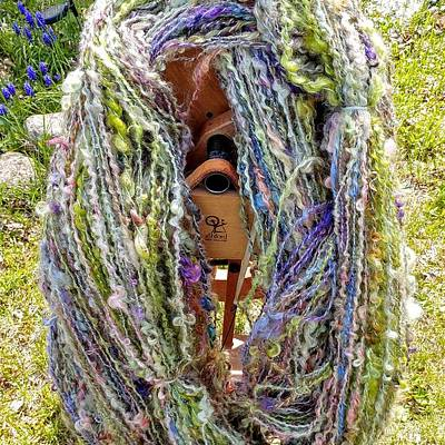 Photograph - Summer Forest Textured Yarn 1 by Charles and Melisa Morrison