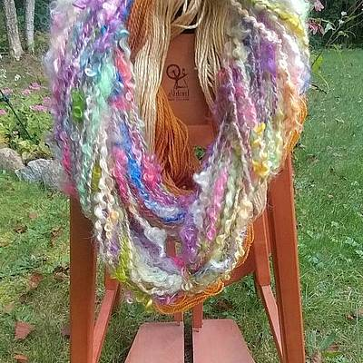 Photograph - Sweeter Than Honey Textured Yarn by Charles and Melisa Morrison