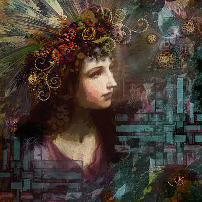 Digital Art - The Searcher by Shelley Benjamin