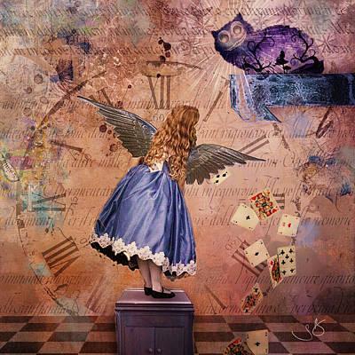 Digital Art - Wonderland by Shelley Benjamin