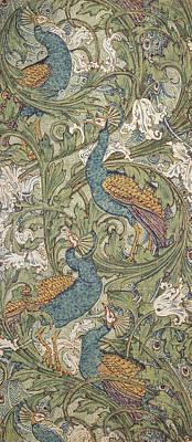Designs Similar to Peacock Garden Wallpaper