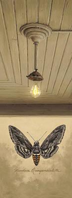 Old Light Bulb Prints