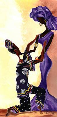 African Wedding Attire Prints