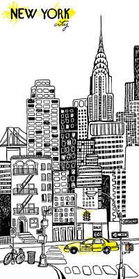 Designs Similar to New York by Artnlera