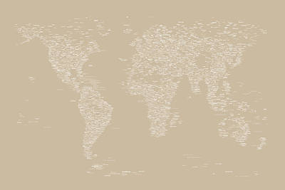 Designs Similar to World Map Of Cities