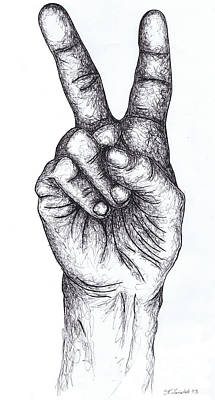 Peace Drawings Original Artwork