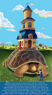 Tiny House Mixed Media | Fine Art America