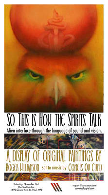 Digital Art - So This is How the Spirits Talk by Roger Williamson