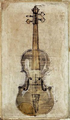 Violin Mixed Media