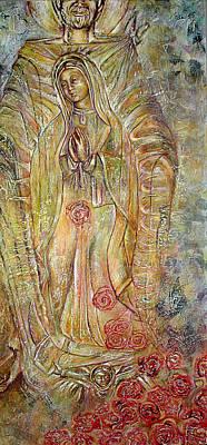Virgin Guadalupe Art